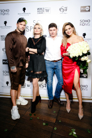 Показ в Soho rooms 244