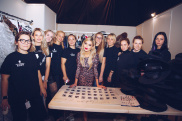 Показ Leopard Collection (Backstage) 142