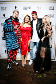 Показ в Soho rooms 252