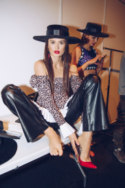Показ Leopard Collection (Backstage) 221