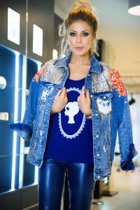 06b20392275 Куртка  quot Веста quot  джинсовая синяя