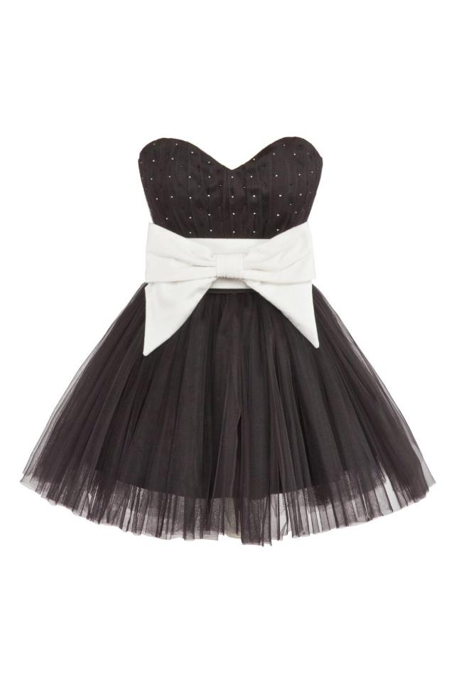 Платье роуз чёрное